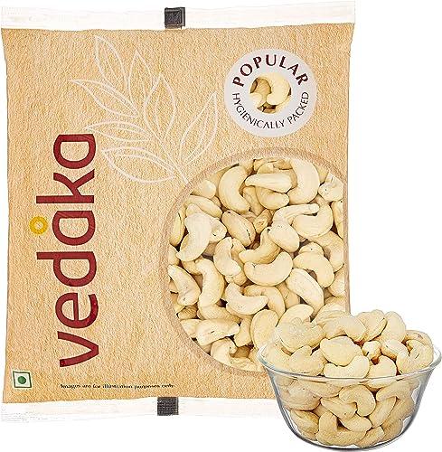 Amazon Brand Vedaka Popular Whole Cashews 500g
