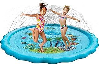 AYZBA Sprinkler for Kids, 68 inch Splash Pad 3-in-1, Inflatable Pools for Kids - Toddler Outdoor Toys - Kid Pools - Water Toys for Kids - Splash Pad for Kids - Baby Pools for Outside