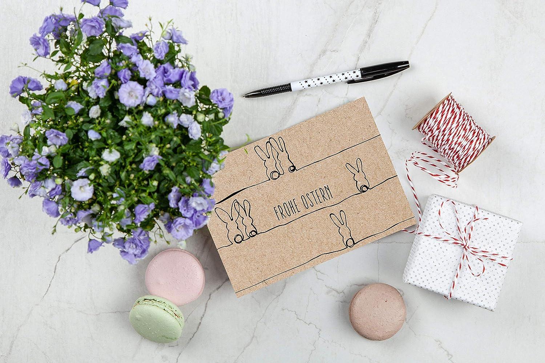 ein Set von Davom 15 hochwertige Osterkarten mit Umschlag