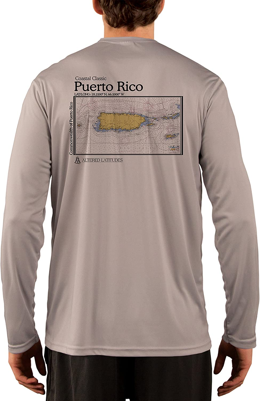 Coastal Classics Puerto Ranking Cheap SALE Start TOP12 Rico Nautical Chart 50+ Sun UPF Pr Men's