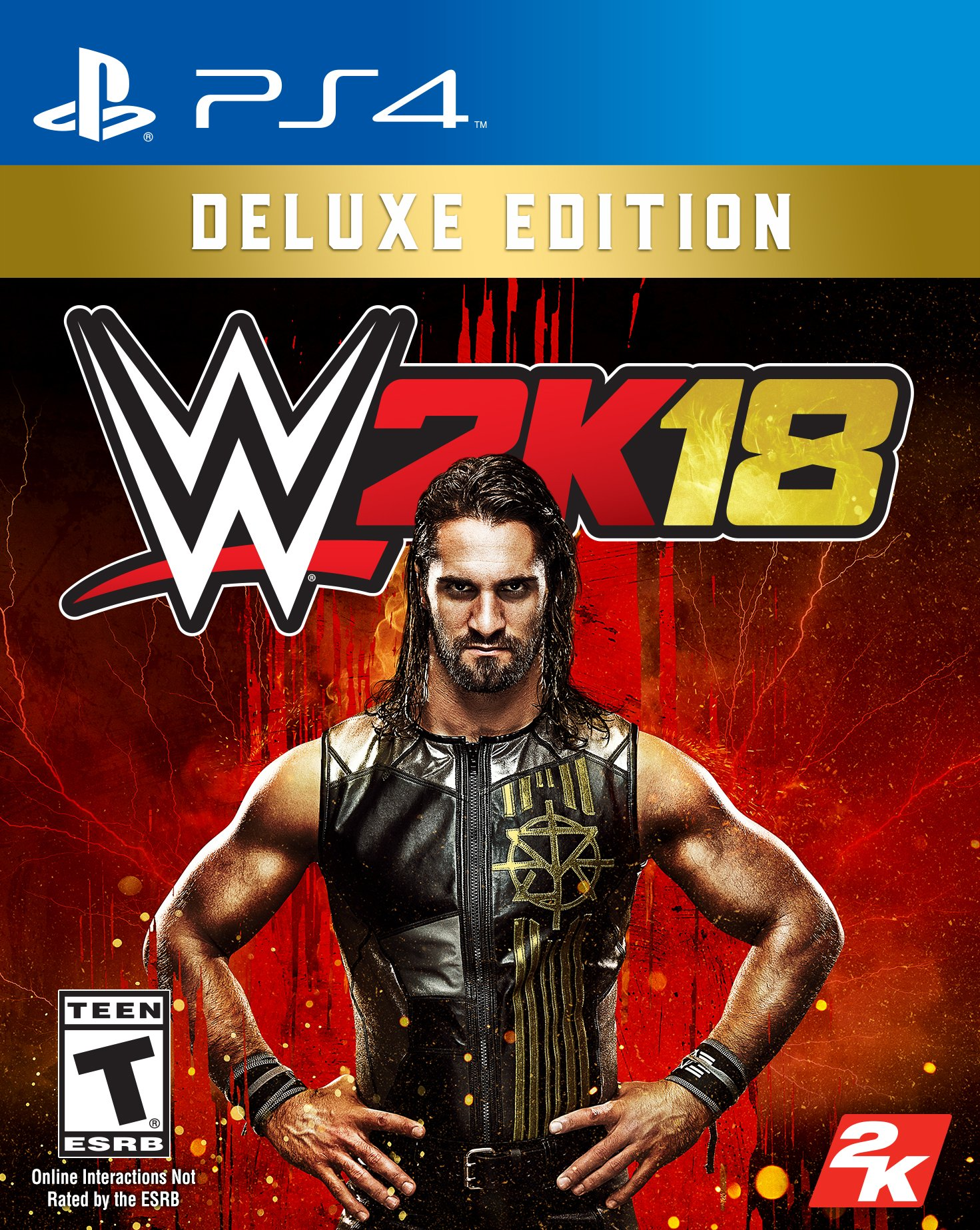 WWE 2K18 Deluxe Edition - PlayStation 4