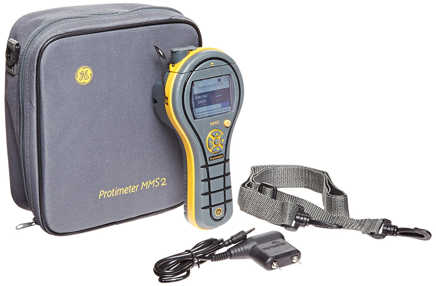 GE Protimeter Import BLD8800 famous MMS2 4-In-1 Measurement Sys Moisture Meter