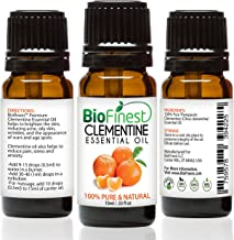 Biofinest Clementine Essential Oil - 100% Pure Undiluted, Organic, Therapeutic Grade - Best For Aromatherapy, Boost Immune...