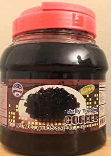 Coffee Jelly Topping for Boba / Ice Cream / Frozen Yogurt by Sunwave