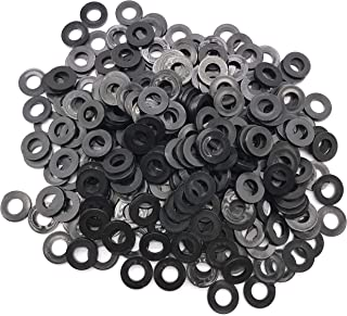 I//D 6.4mm O//D 12mm Thickness 1.5mm M6 NYLON PLASTIC WASHERS PACK OF 1000