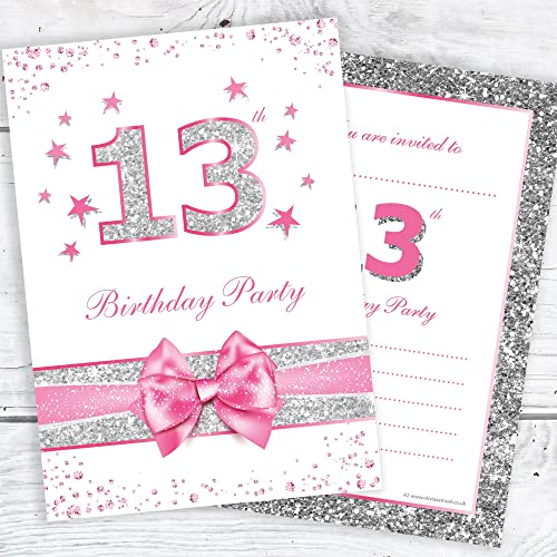 Olivia Samuel 13th Birthday Party Invitations