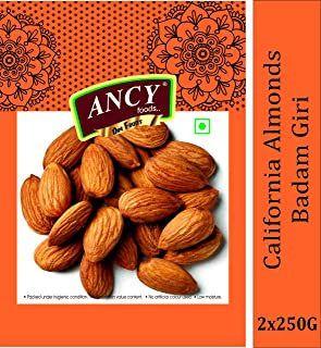 Ancy Foods Almonds Natural and Best (500 g)