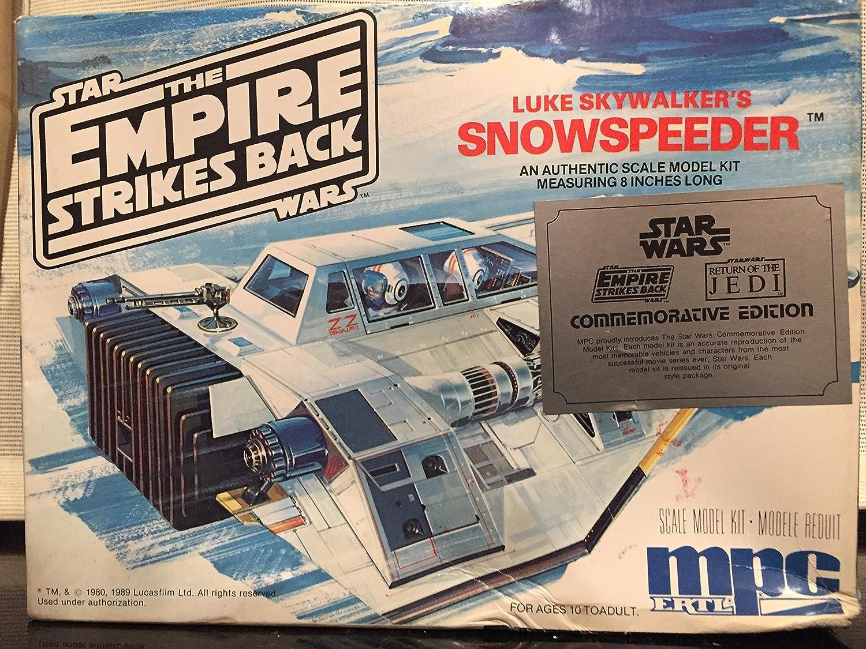 Venta al por mayor barato y de alta calidad. Estrella Wars Empire Strikes Strikes Strikes Back Mpc Snowspeeder by MPC  excelentes precios