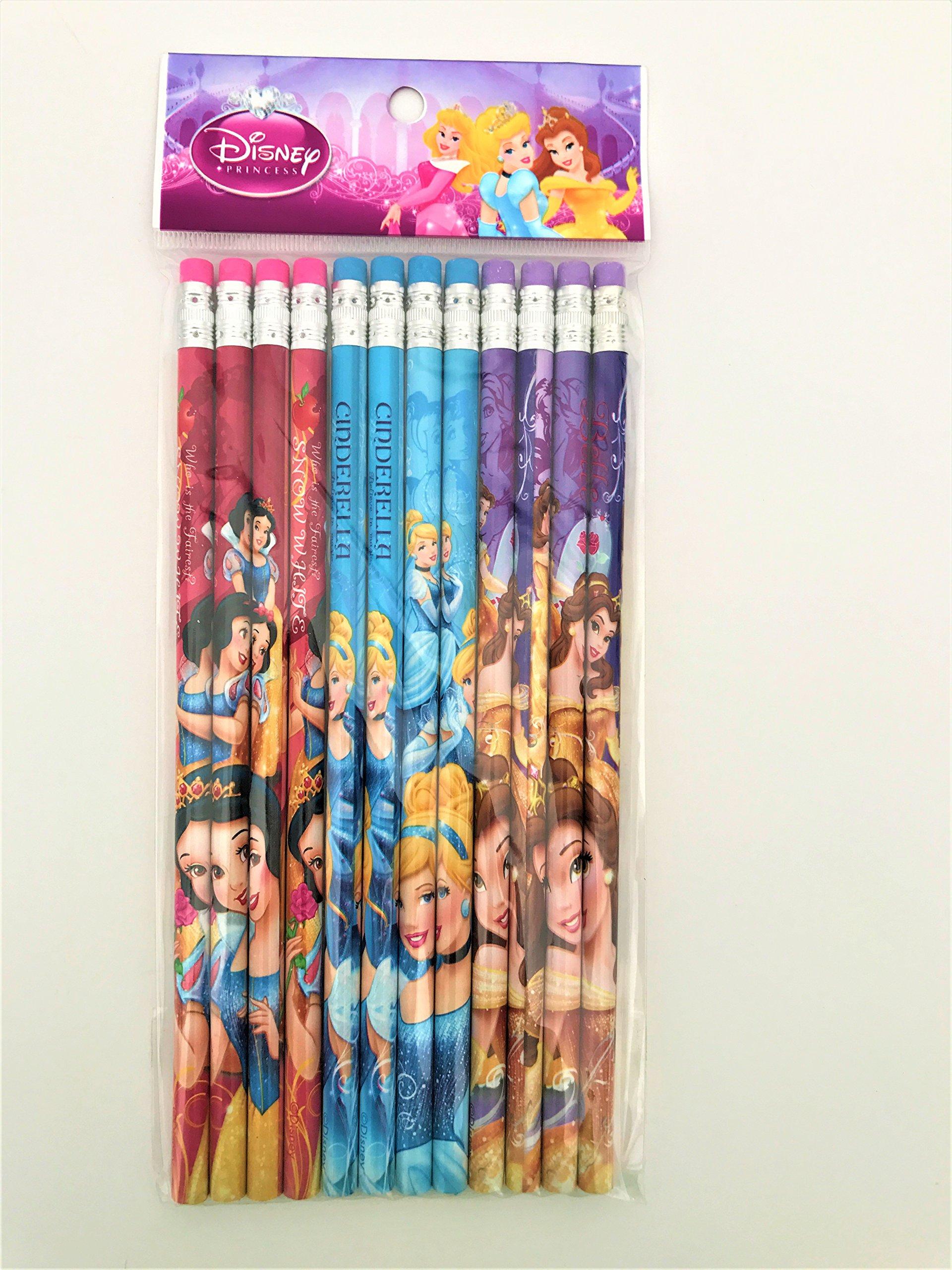 Pack de 12 lápices de madera de Princesa Disney: Amazon.es ...