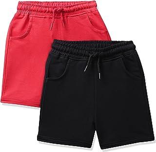 Amazon Brand - Jam & Honey Girl's Regular Cotton Shorts