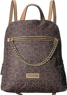 Calvin Klein Women's Nylon Chain Backpack