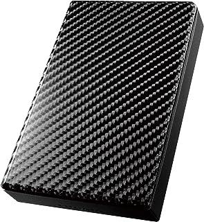 I-O DATA ポータブルハードディスク 2TB/コンパクトボディ/USB3.0/USBバスパワー/テレビ録画/家電メーカー対応/日本製/HDPT-UT2DK/E