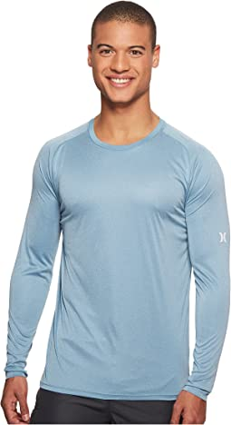 Hurley - Icon Quick Dry Long Sleeve Surf Shirt UPF 50+