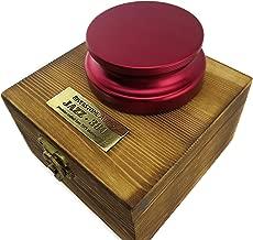 Riverstone Audio - Jazz Series 380 Record Weight Stabilizer - Medium Weight (380 g) Anodized Aluminum - Merlot RED