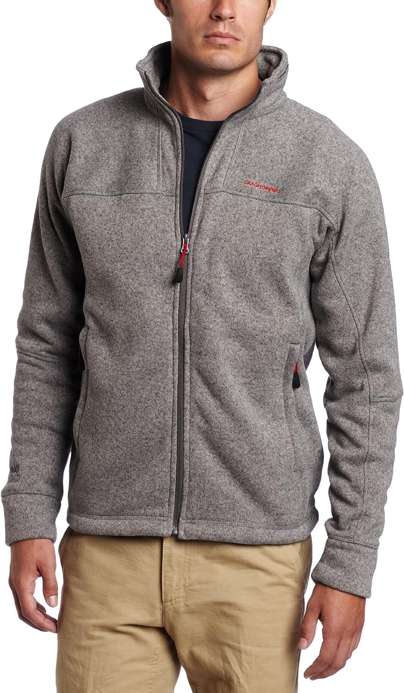 Craghoppers Men's Special sale New arrival item Hikaru Fleece Jacket Knit-Look