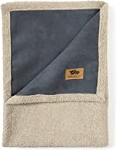 West Paw Big Sky Dog Blanket and Throw, Faux Suede/Silky Soft Fleece Pet Throw Blanket for Couch, Furniture Chair and Bed