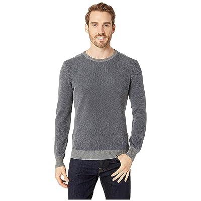 Agave Denim Kestrel Long Sleeve Crew Neck Sweater (Heather) Men