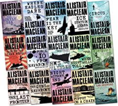 Alistair MacLean Collection 15 Books Set Pack (Force 10 from Navarone, San Andreas, Rendezvous, Athabasca, Seawitch, The L...
