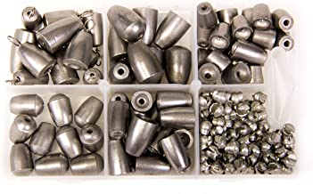 Bullet Weights Ultra Steel and Tin Assorted Kit (190 Piece Kit)