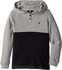 Volcom Kids - Murphy Thermal Hoodie (Toddler/Little Kids)