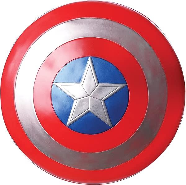 Rubie S 漫威美国队长 12 塑料盾牌