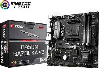 MSI Arsenal Gaming AMD Ryzen 1ª y 2ND Gen AM4 M.2 USB 3 DDR4 DVI HDMI Micro-ATX Placa Base (B450M Bazooka V2)