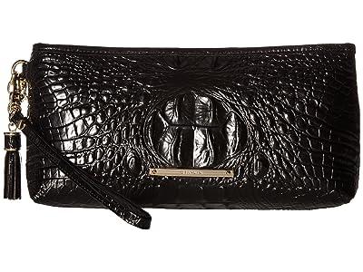 Brahmin Melbourne Kayla Bag (Black) Handbags