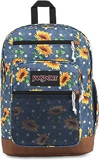 JanSport Huntington Backpack - Lightweight 15 Inch Laptop Bag, Sunflowers