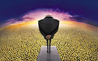 Despicable Me 2 Movie Poster Photo Limited Print 11x17 Steve Carell Kristen Wiig Benjamin Bratt Miranda Cosgrove Russell Brand Ken Jeong Minion #2