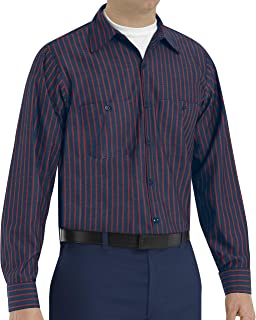 Red Kap Men's Industrial 7 Button Work Shirt