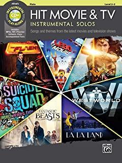 Hit Movie & TV Instrumental Solos: Songs and Themes from the Latest Movies and Television Shows (Flute), Book & CD (Instrumental Solos Series)