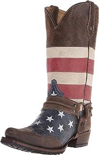 حذاء رجالي من Roper يحمل شعار American Biker