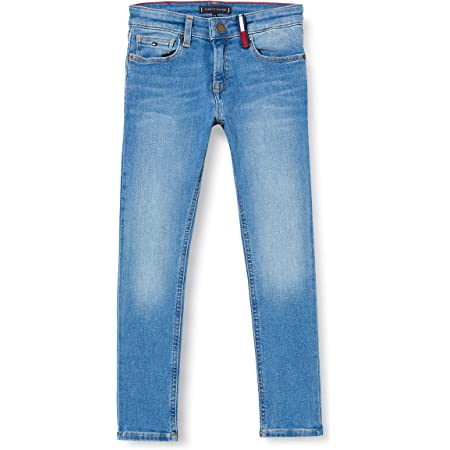 Ocean Light Blue Stretch 1AA Tommy Hilfiger Boys Simon Skinny OCLBST Jeans Blue 6-7 Years