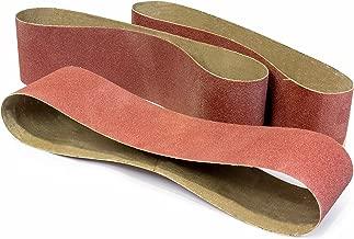 WEN 648SB80 6 x 48-Inch 80-Grit Belt Sander Sandpaper, 3-Pack