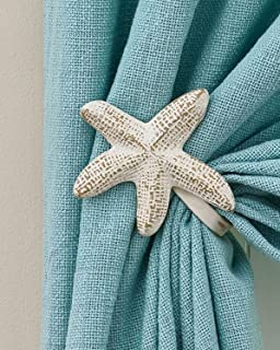 Pair of Starfish Curtain Tie Backs (Starfish 5