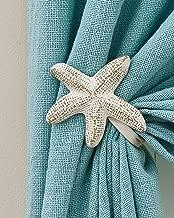 Best starfish curtain holdbacks Reviews