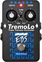 EBS TremoLo Triple Bass Tremolo Controller Pedal with Stereo Out