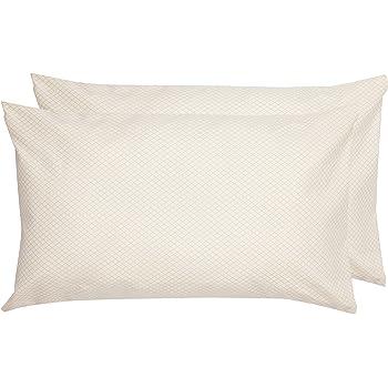 50 x 80 cm x 2 crema Fundas de almohada de microfibra deluxe Basics