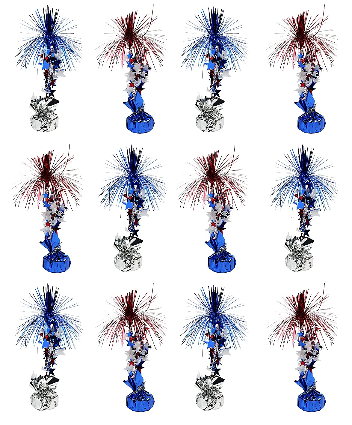 Set of 12 Patriotic Centerpieces! 12
