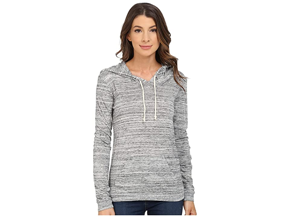 Alternative Eco Jersey Classic Pullover Hoodie (Urban Grey) Women
