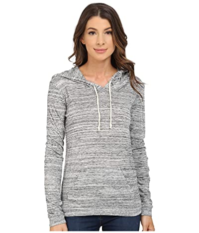 Alternative Eco Jersey Classic Pullover Hoodie (Urban Grey) Women