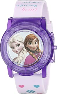 Disney Kids' FZN6000SR Digital Display Analog Quartz Pink Watch