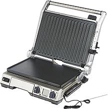 Sage Appliances SGR840 The Smart Grill Pro, 2400 Watt, roestvrij staal