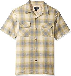 Men's Short Sleeve Button Front Board Shirt