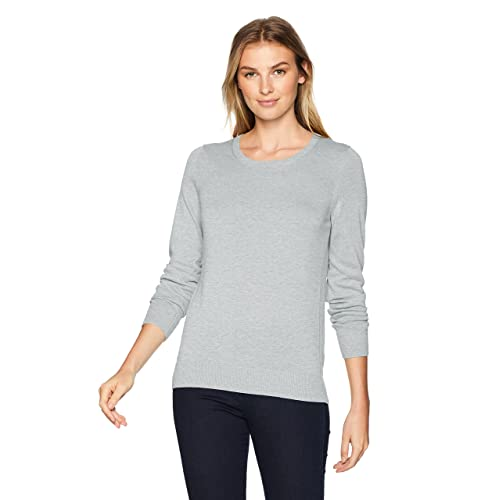 Amazon Essentials Women s Lightweight Crewneck Sweater a6cc2de7d