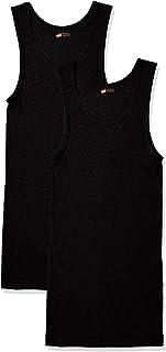 [ヘインズ] ノースリーブシャツ 綿100% 動きやすい 2P Aシャツ アンダーウェア-メンズ HM2-K701