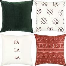 modern christmas throw pillows