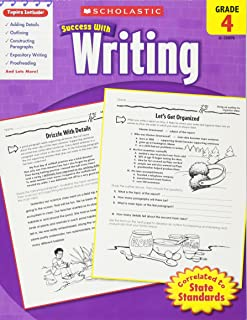 Scholastic Success with Writing: Grade 4 Workbook