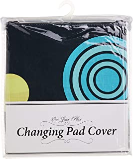 One Grace Place 10-24035 Magical Michayla - Changing Pad Cover, Multi-Color