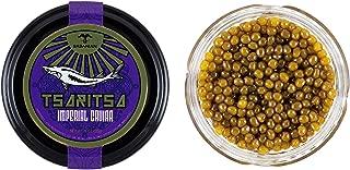 GUARANTEED OVERNIGHT! Tsaritsa Imperial Osetra Caviar - Golden Large Pearl 000 (4 oz)